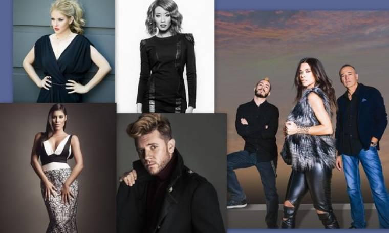 Eurovision 2015: Είναι επίσημο! Αυτοί είναι οι υποψήφιοι για τον ελληνικό τελικό!