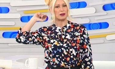 Δεν θα πιστεύετε τι φόρεσε στο κεφάλι της η Μαρία Μπακοδήμου