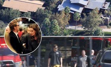 Έκτακτο: Πυροσβεστικά & ασθενοφόρο στην έπαυλη της Angelina Jolie και του Brad Pitt