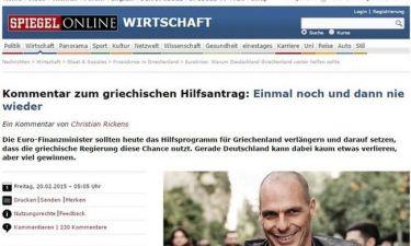 Spiegel: Η Γερμανία κερδίζει δίνοντας δεύτερη ευκαιρία στην Ελλάδα