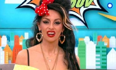 H απίστευτη μεταμόρφωση της Μαγγίρα σε Amy Winehouse!