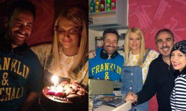 Θέμης Γεωργαντάς: Birthday party και δουλειά στη Σύρο! (φωτο)