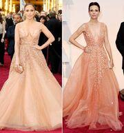 Oscars 2015: Κι όμως δεν είναι το ίδιο φόρεμα!