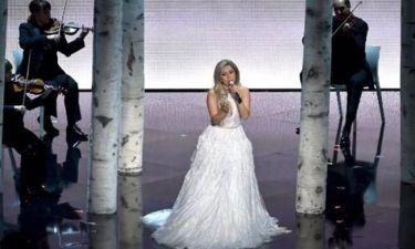 Oscars 2015: Μάγεψε με την φωνή της η Lady Gaga