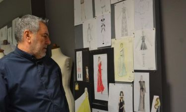 Ο Μάκης Τσέλιος στο Beauty-Fashion & Photo Department του ΙΕΚ ΑΚΜΗ