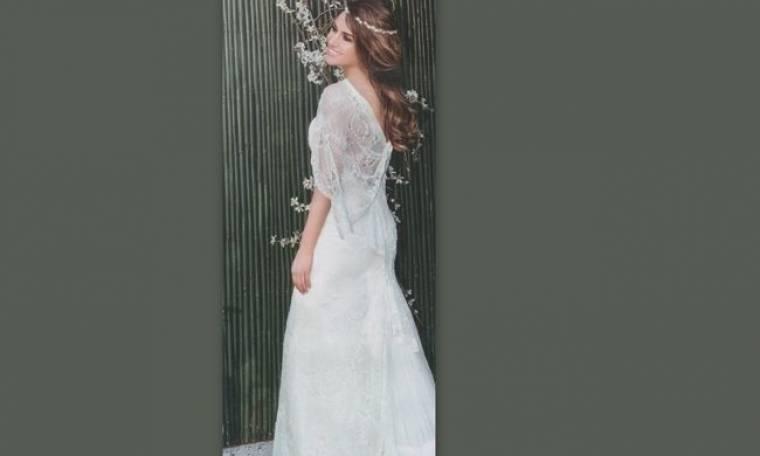 Η Τσολάκη ντύθηκε νύφη και…