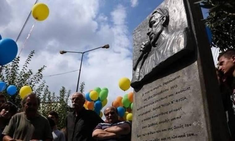 Άγνωστοι προκάλεσαν ζημιές στο μνημείο του Παύλου Φύσσα (photo & video)
