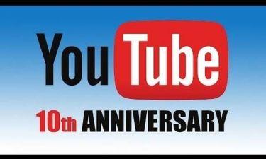Δέκα χρόνια Youtube σε ένα βίντεο!