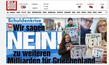 Nein (όχι) και εμείς στα γερμανικά προϊόντα
