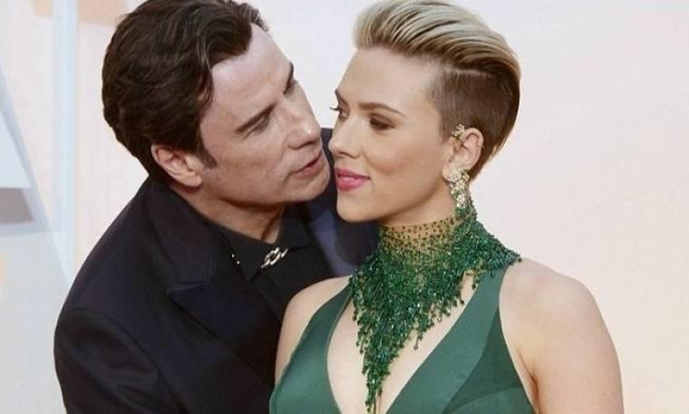 Η απάντηση της Johansson για τα… φιλιά του Travolta