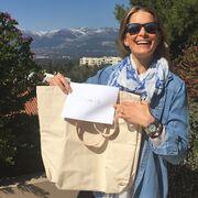 Τατιάνα Μπλάτνικ: Η τσάντα που έφτιαξε για την Creaid Greece