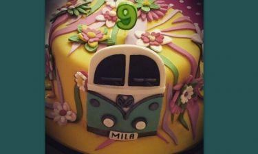 Η τέλεια τούρτα της κόρης των Καμηλά-Στογιάκοβιτς