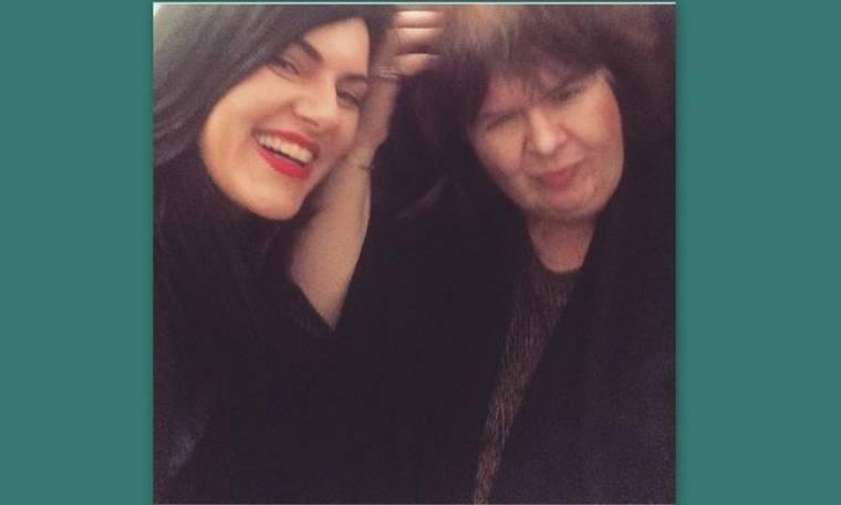Οι τρυφερές ευχές της Μπαλτζή στη «δεύτερη μητέρα της» Αρλέτα
