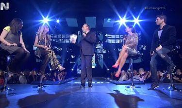 Eurovision 2015: Ο Φώτης Σεργουλόπουλος στη σκηνή του Ελληνικού τελικού