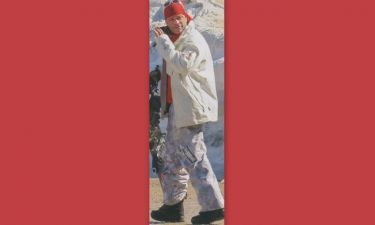 Κώστας Σόμμερ: Για σκι στον Παρνασσό