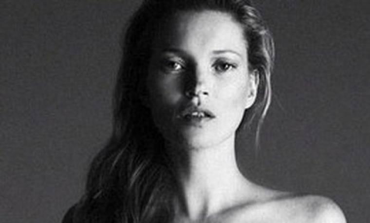 Η αδημοσίευτη γυμνή φωτογραφία της Kate Moss