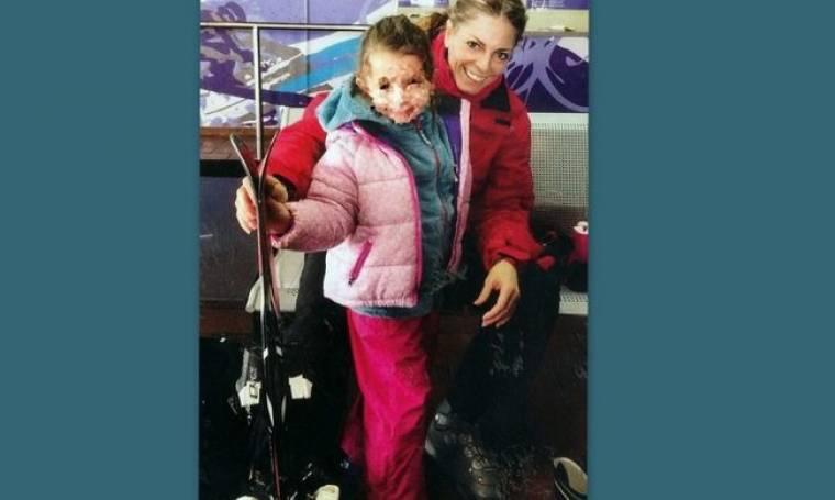 Μαθήματα σκι για την κόρη των Λάσπα-Νικολόπουλου