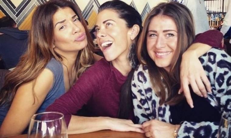 Ελένη Χατζίδου: Μεσημεριανό καφεδάκι με τις φίλες της