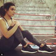 H ιδρωμένη Τόνια Σωτηροπούλο μετά το γυμναστήριο αναστατώνει το Instagram