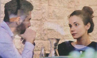 Άννα Μπουσδούκου: Δίχως ίχνος μακιγιάζ σε ραντεβού με το σύντροφο της