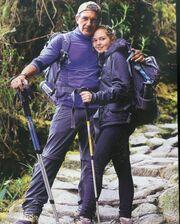 Αντόνιο Μπαντέρας: Το ταξίδι με την κόρη του στο Περού