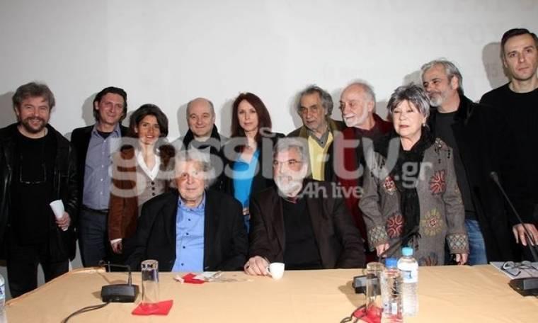 Συνέντευξη Τύπου για τα ενενήντα χρόνια Μίκης Θεοδωράκης