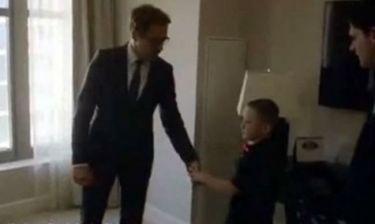 Μία κίνηση ανθρωπιάς από τον «Iron man» - Δωρίζει προσθετικό άκρο σε 7χρονο!
