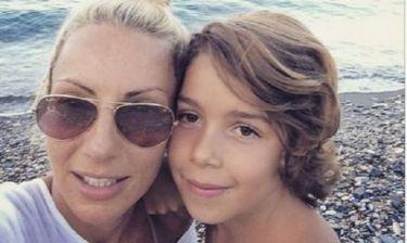 Έλενα Τσαβαλιά: Ο γιος της παίζει ποδόσφαιρο και εκείνη καμαρώνει! (εικόνα)