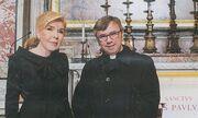 Μαριάννα Βαρδινογιάννη: Η επίσκεψη στο Βατικανό και η συνάντηση με τον Πάπα