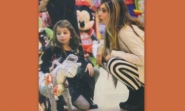 Κατερίνα Λάσπα: Βόλτα και παιχνίδια με την κόρη της