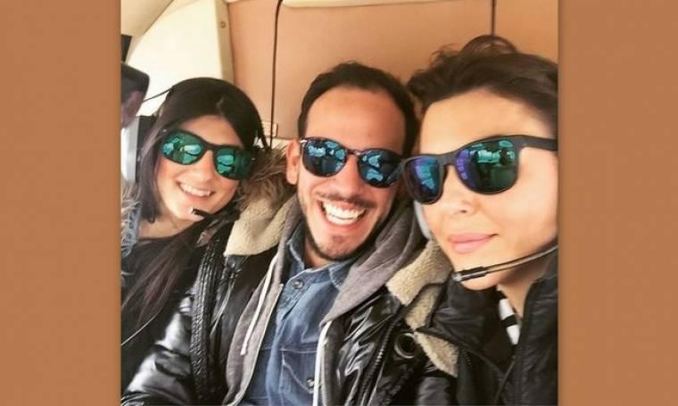 Σίσσυ Φειδά: Πέταξε με ελικόπτερο πάνω από τον Σαρωνικό
