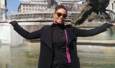 Μετά το Eurosong η Σάγια πήγε ταξιδάκι στη Ρώμη