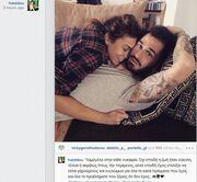 Τελικά δεν άργησε να το παραδεχτεί! Δείτε την Ελληνίδα τραγουδίστρια αγκαλιά με τον αγαπημένο της!