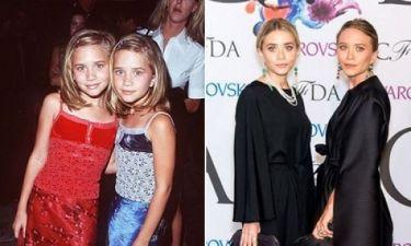 Mary Kate & Ashley Olsen: Η εξέλιξη του στυλ τους από κοριτσάκια μέχρι σήμερα!