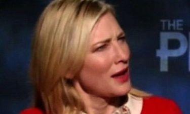 Cate Blanchett: Δεν θα πιστεύετε το λόγο που έγινε έξαλλη με παρουσιαστή εκπομπής!