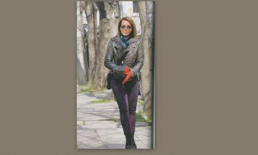 Δανάη Στράτου: Έτσι διατηρεί τη σιλουέτα της η σύζυγος του Βαρουφάκη