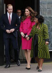Kate Middleton: Αυτή είναι η τελευταία της εμφάνιση πριν τη γέννα