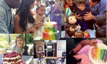 Διάσημοι γονείς μας δίνουν ιδέες για το πιο όμορφο παιδικό πάρτι γενεθλίων! (εικόνες)