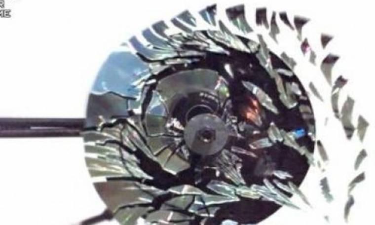 Δείτε τι θα συμβαίνει αν περιστρέψουμε ένα CD με πολύ μεγάλη ταχύτητα (Βίντεο)