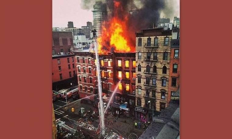 Κάηκε το σπίτι γνωστής ηθοποιού
