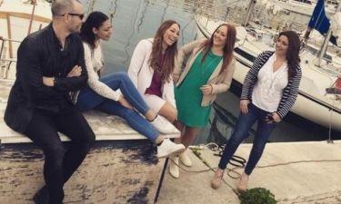 Έλενα Παπαρίζου: Προετοιμάζεται για τις εμφανίσεις της στη Σουηδία