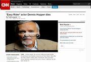 Απίστευτο! Γνωστός δημοσιογράφος ξανά πέθανε τον Dennis Hopper στο twitter