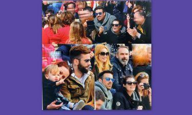 Οι celebrities στην παρέλαση των παιδιών τους