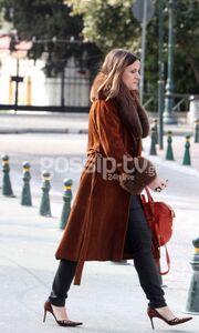 Άννα Δρούζα: Χαλαρή βόλτα στην Κηφισιά