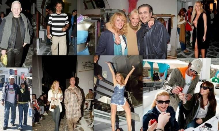 Όταν η Μύκονος «βούλιαζε» το Πάσχα από celebrities! Φέτος; Τι; (φωτό)