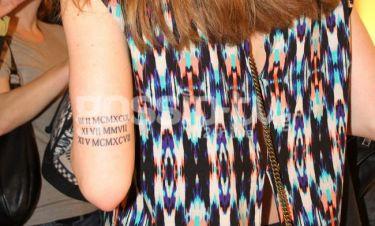 Δεν φαντάζεστε στην κόρη ποιου πασίγνωστου ζευγαριού της ελληνικής showbiz ανήκει αυτό το τατουάζ