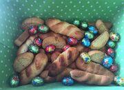 Κατερίνα Καινούργιου: Έφτιαξε πασχαλινά κουλουράκια!