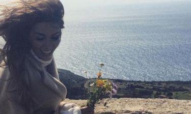 Ελένη Φουρέιρα: Πάσχα με τον σύντροφό της (φωτό)