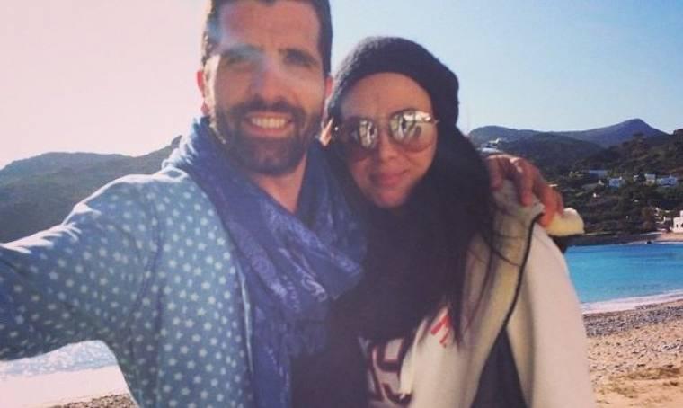 Θανάσης Βισκαδουράκης: Πάσχα στα Κύθηρα με την σύντροφό του