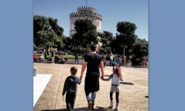 Απολαμβάνουν την ηλιόλουστη Λαμπρή στη Θεσσαλονίκη!